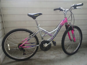 "24"" Girls' Mountain Bike. 21 speed"