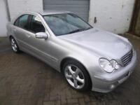 Mercedes-Benz C200 Kompressor 1.8 auto 2005MY Avantgarde SE