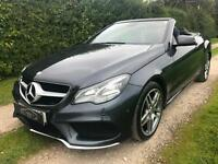 2013 MERCEDES E250 AMG SPORT 7G-TRONIC PLUS CONVERTIBLE GREY 1 OWNER FROM NEW