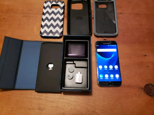 Samsung Galaxy s7 with kate spade and otter box cases