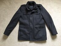 Guess - Men's Grey Coat - Size M (excellent condition)