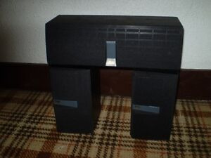 JVC 2 BOOKSHELF + 1 CENTRE SET OF SPEAKERS