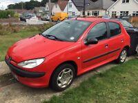 2001 Peugeot 206 1.4 - 10 months mot