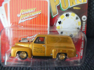 1955 FORD PANEL TRUCK JOHNNY LIGHTNING POKER