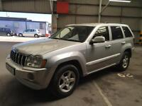 2006 JEEP GRAND CHEROKEE LIMITED 3.0 CRD DIESEL 4X4 79K LOW MILES! TOW BAR!