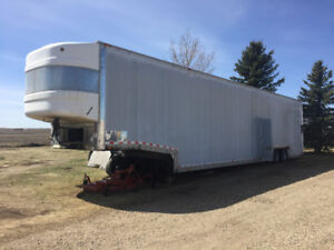 Enclosed Car Hauler