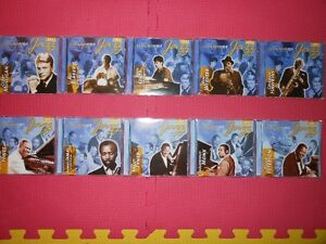 cd s the legends of Jazz (10 cds)