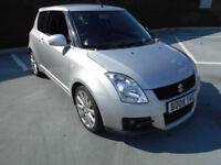 (08) 2008 Suzuki Swift 1.6 Sport 125 BHP Service History