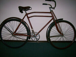 Vintage 1930's Star Bicycle, Fully refurbished