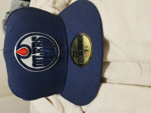 Edmonton oilers fitted hat