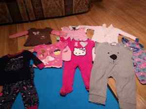 9-12 mos girls clothes