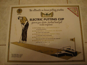Vintage 19th Hole Electric Putting Cup ( MAKE OFFER)