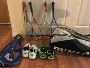 Squash Racket and bag set