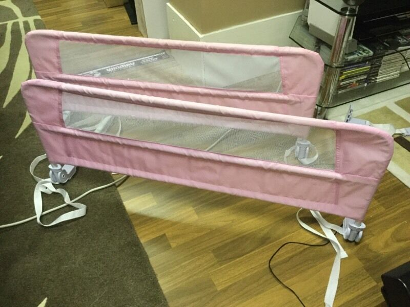 2 X Pink Lindham Bed Rail Guard Barrier 1 X For GBP10