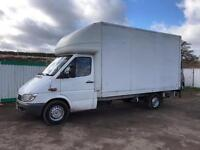 Mercedes-Benz Sprinter, LWB Luton with large tail lift, MOT 26.2.18