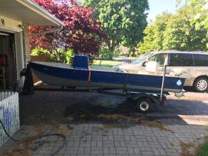 14ft Mirrocraft fishing boat - 1986