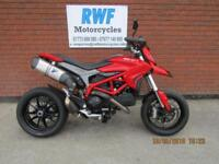 Ducati Hypermotard 821, 2014, ONLY 2 OWNERS & 4755 MILES FSH, TERMI EXHAUST