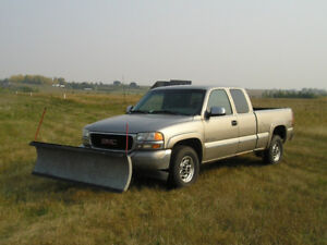 Affordable comfortable 4x4 SnowPlow