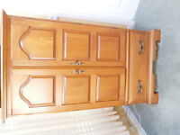 Maple Armoire Quality Mint Condition