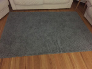 5x7 grey shag area rugs