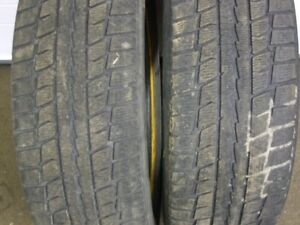 2-215/60R16 M+S DUNLOP GRASPIC WINTER TIRES