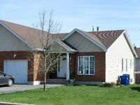 NEW PRICE - Semi-detached bungalow, finished basement, Aylmer