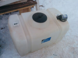 Ace Roto-Mold 100 Gallon Portable Utility Tank with Pump