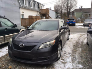 2007 Toyota Camry V6 SE Cuir et Toit ouvrant