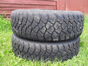 Goodyear Workhorse Studded 235/75/15 REDUCED