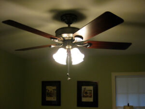 Ceiling fans hunter kijiji in ontario buy sell save with two 2 identical hunter augusta ceiling fans mozeypictures Images