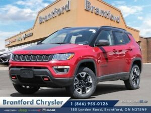 2018 Jeep Compass Trailhawk 4x4  - Leather Seats - $249.84 B/W