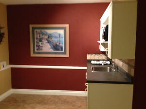 Bachelor Suite - partially furnished Availalbe March15