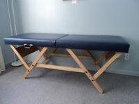 Table à massage pliante