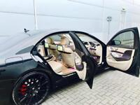 2014 64 Mercedes-Benz S63 L AMG 5.5 585bhp AMG L + Black + HUGE SPEC 3x TVs