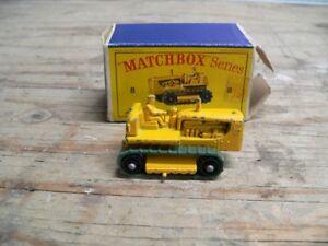 plusieurs auto de collection antique Lesney de matchbox