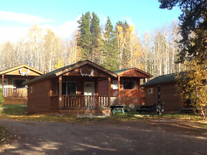 Cabins 8kms west of Smithers