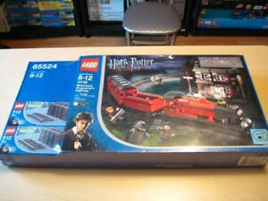 Lego set 10132 Harry Potter Hogwarts Express motorisé  neuf RARE
