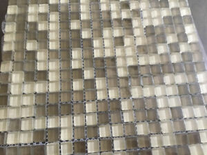 Glass Mosaic Tile 24 Square Feet.