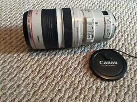 Canon 100-400mm I IS lens