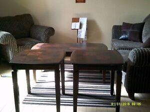 Sofa/Chair/Coffee Table Set