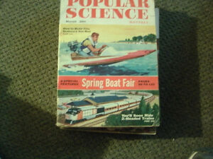 Popular Science vintage Magazines