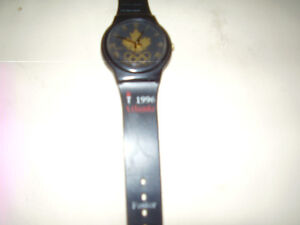 Olympic Wrist Watch 1996 Atlanta Rare Maple Leaf