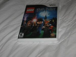 Harry Potter LEGO Wii Game Years 1-4 - BRAND NEW