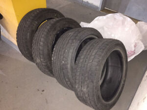 NEGOCIABLE_PNEUS HIVER (4) WINTER TIRES_DUNLOP BLIZZAK