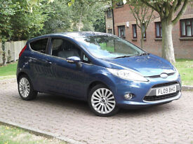 Ford Fiesta 1.6TDCi Titanium**DIESEL**1 PREV OWNER**78MPG**£20 TAX**