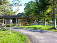 Mid-Century Modern Bungalow on Tree-lined Street in Gananoque