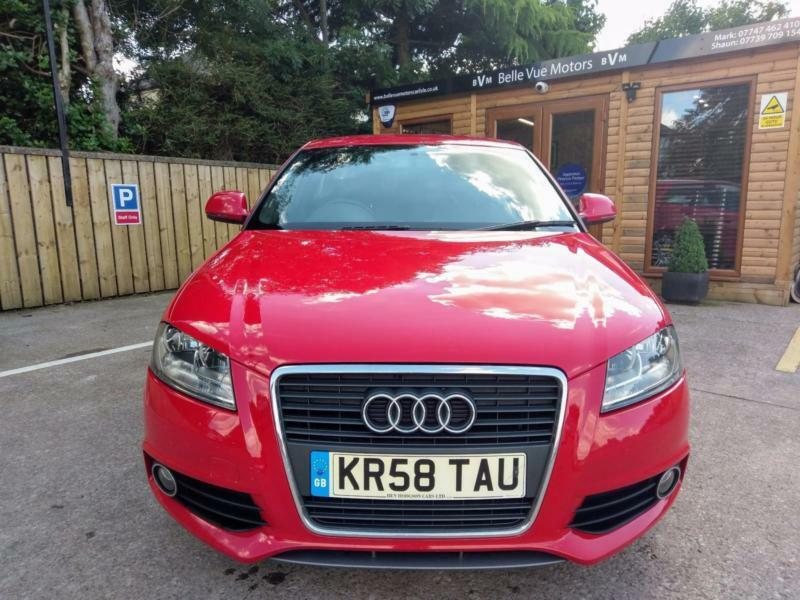 2009 AUDI A3 1.8T FSI S LINE IN BRILLIANT RED
