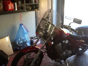Honda shadow windshield