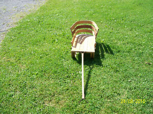 Vintage Wooden Childs Sleigh Cornwall Ontario image 2