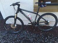 Cannon dale mountain bike.